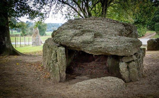 De dolmen van weris noordelijk